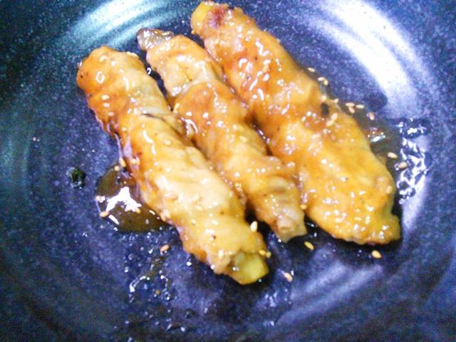 茄子と大葉の豚肉巻