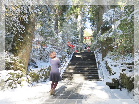 芦ノ湖 箱根神社