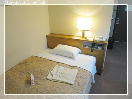 豊鉄ターミナルホテルのベッド