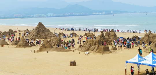 砂彫刻フェスティバル4
