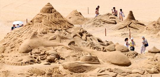 砂彫刻フェスティバル2