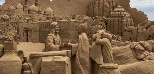 砂彫刻フェスティバル3