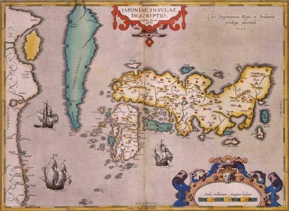 16世紀日本地図