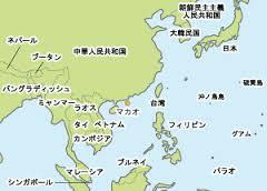 マカオ地図