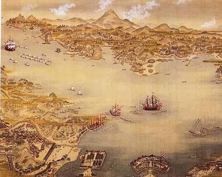 オランダ船の入港