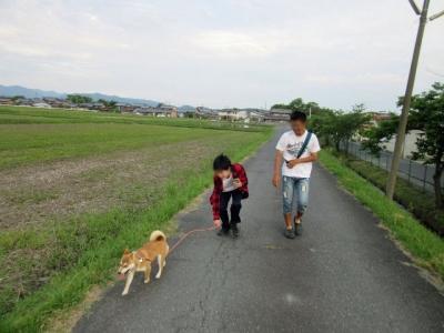 お散歩ハナ