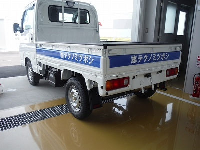 軽トラックマーキング