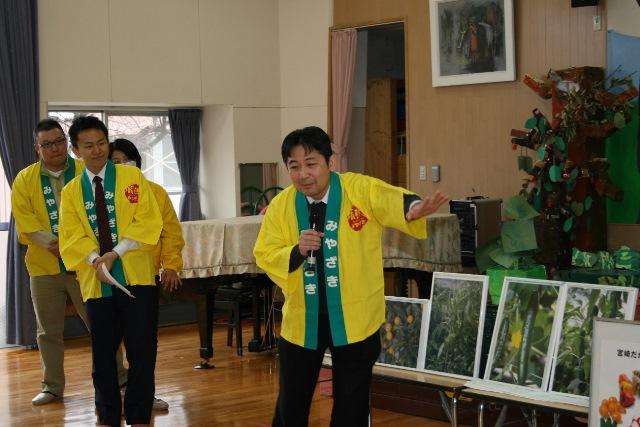 JA宮崎経済連 幼稚園への訪問20150211003jpg