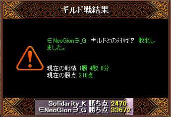 RedStone 15.03.11 結果