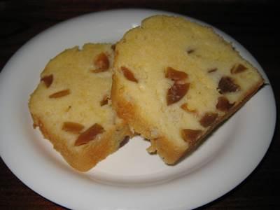 梅のパウンドケーキ3