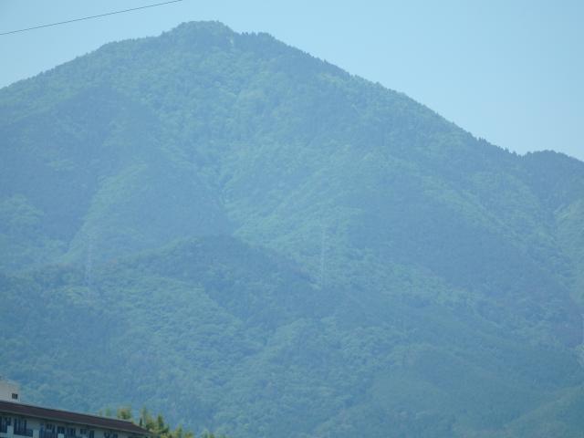 山頂付近を拡大