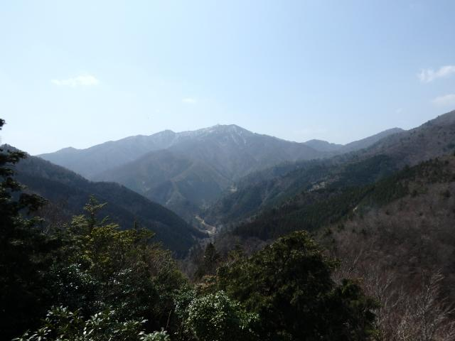 高城山を望遠する