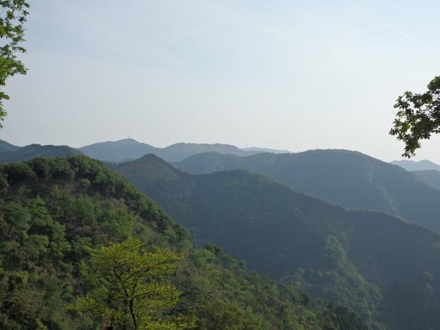 淡路島南部の山岳地帯