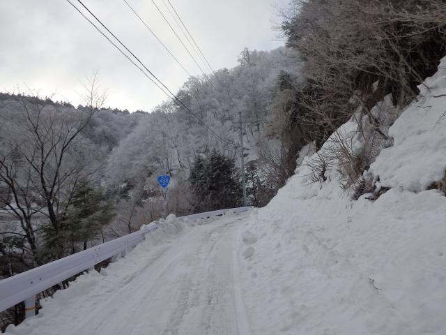 剣山登山口の見ノ越へ行く