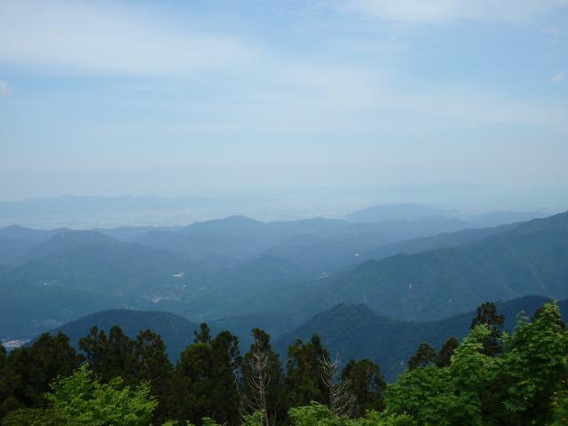 徳島市方面を俯瞰する