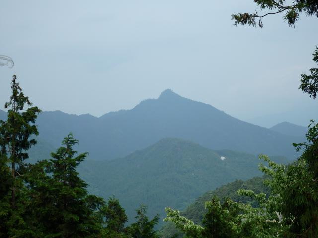 焼山寺山の尖峰