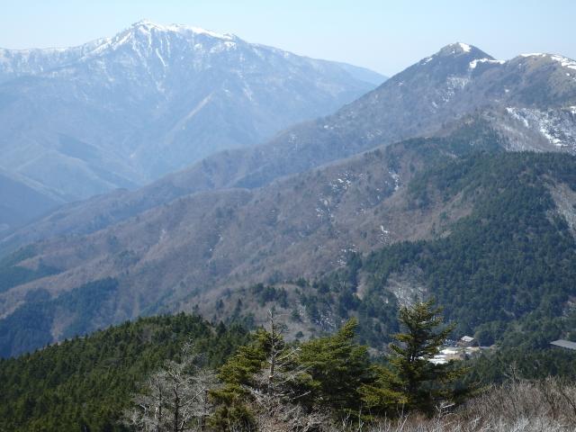 三嶺と塔ノ丸