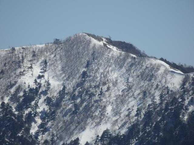 一の森の山頂付近