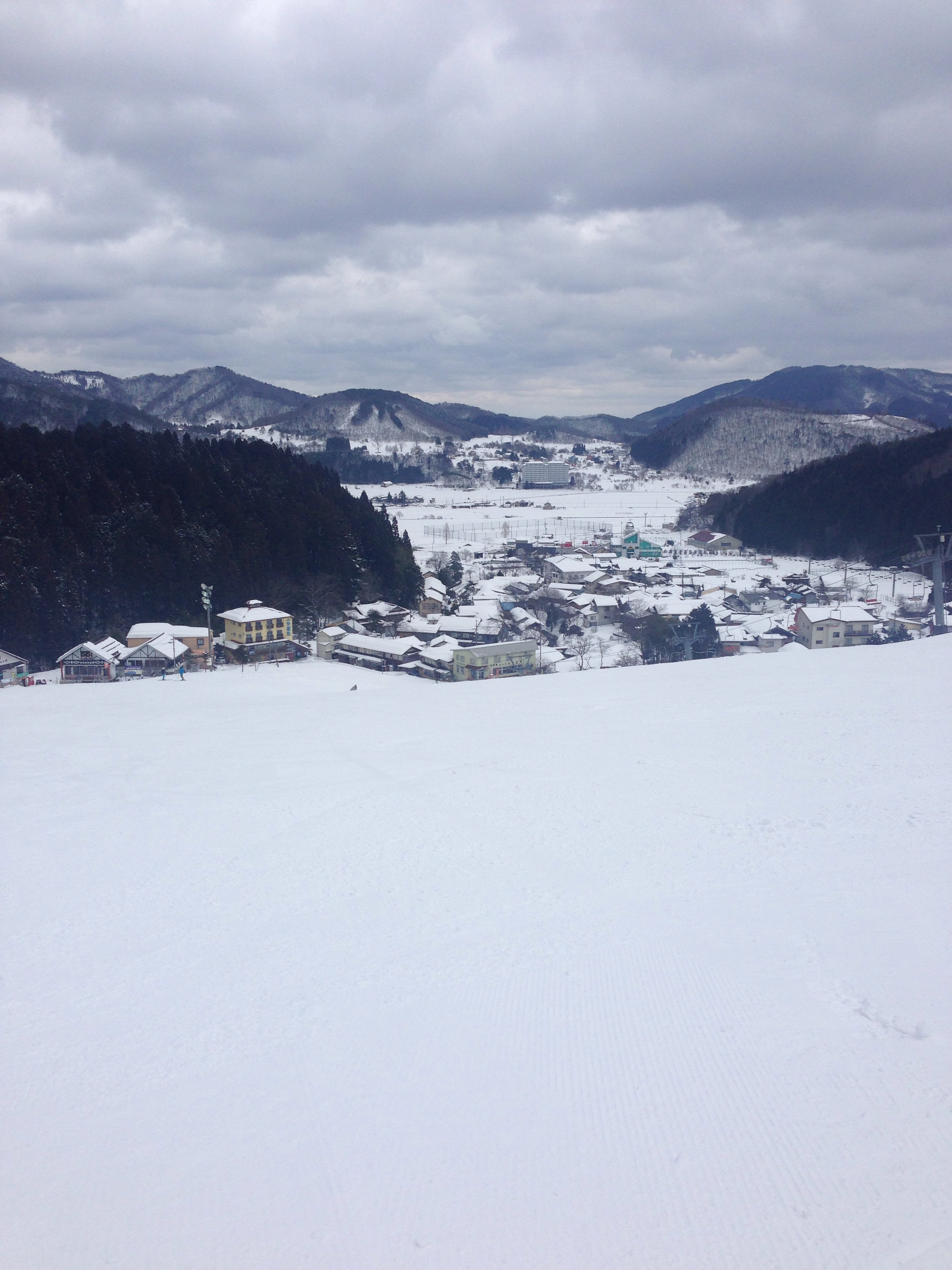 神 鍋 場 奥 スキー