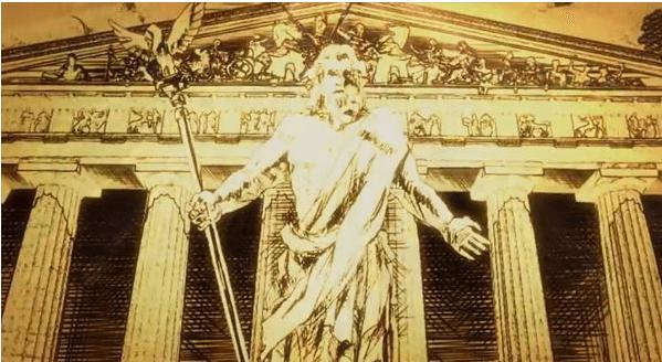 ミリオンゴッド神々の凱旋 天井