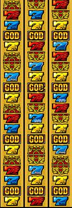 ミリオンゴッド-神々の凱旋リール配列
