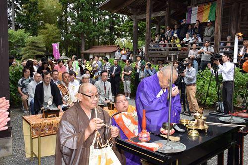 前田慶次供養祭