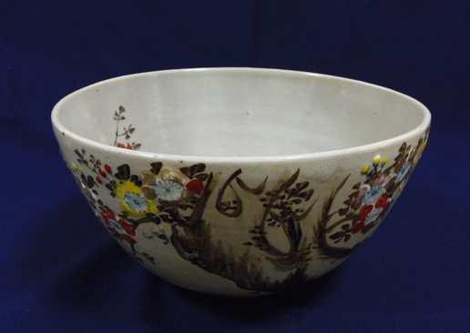 20150202 梅花図大鉢
