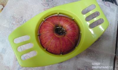 りんごの方が大きかった