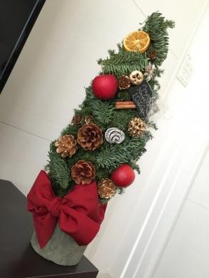 20141223002_手作りクリスマスツリー