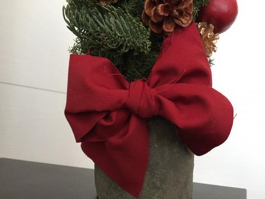 20141223003_クリスマスツリーの大きなリボン