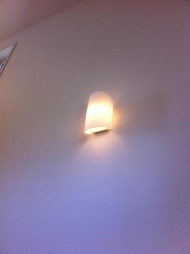 20120508004_U字階段途中の照明2