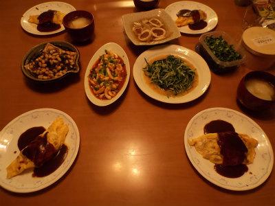 12.22夕食