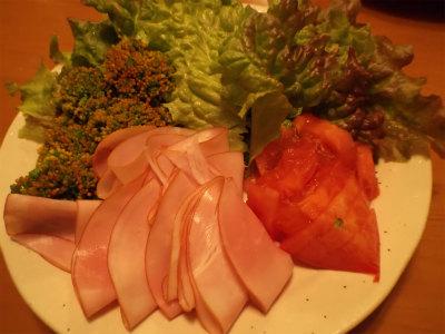 12.28野菜でサラダ