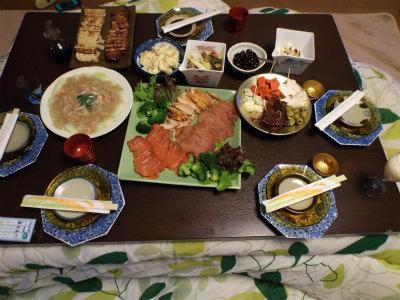 12.31夕食