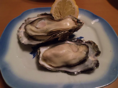 1.29牡蠣の蒸し焼き