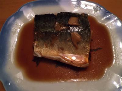 2.7鯖に煮付け