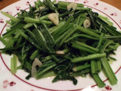 2.11壬生菜のナンプラー炒め
