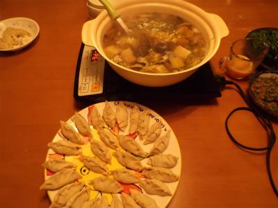3.1手作り餃子鍋