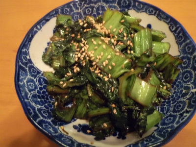 3.28高菜のピリ辛炒め