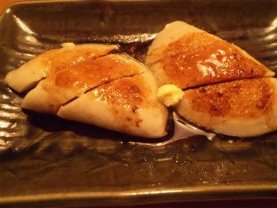 4.15ハンペンのバター醤油焼き