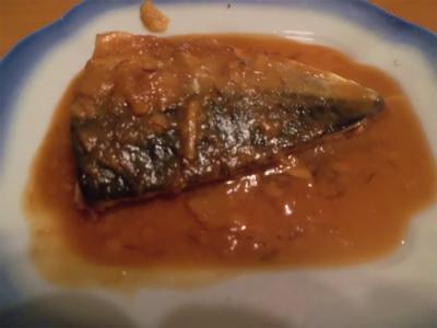 5.23鯖の味噌煮