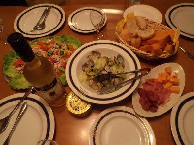 6.5夕食