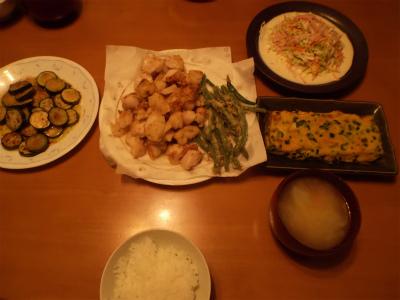 6.20夕食