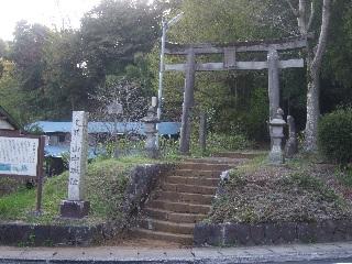 諏訪駒形神社の鳥居_H22.05.01撮影