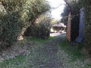 旧道の入口_H22.05.01撮影