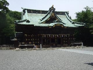三島大社拝殿_H22.05.22撮影