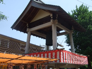 三石神社の時の鐘_H22.05.22撮影