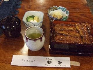 桜屋の蒲焼定食_H22.05.22撮影