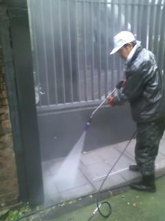 フェンス塗装5