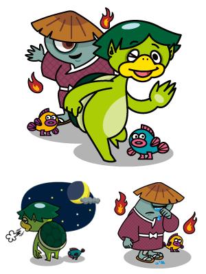 妖怪カッパちゃんと仲間たち